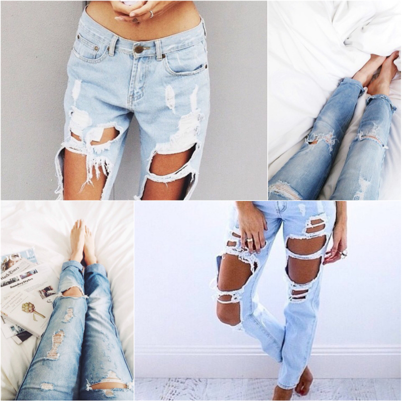 Major craving: ripped boyfriend jeans | The London Girl